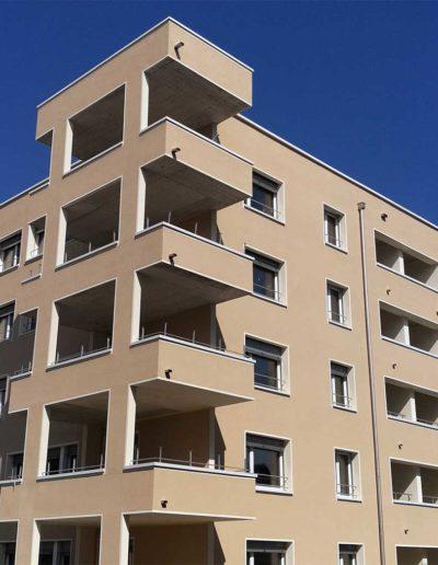 Referenzen: Betonfensterbank und Brüstungsabdeckung