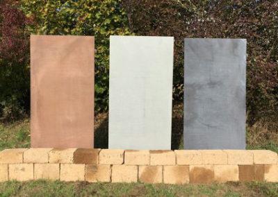 Sichtschutz Gartenstele aus Hochleistungs-Beton 30mm